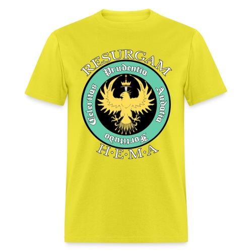 Resurgam HEMA Men's Tee - Yellow - Men's T-Shirt