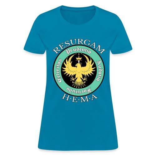 Resurgam HEMA Women's Tee - Turquoise - Women's T-Shirt