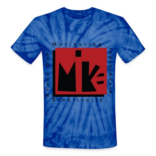 Mike Knockout - Unisex Tie Dye T-Shirt