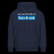 Hoodies ~ Men's Hoodie ~ Facebook