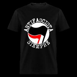 Antifascista siempre Antifa - Anti-racist - Anti-nazi - Anti-fascist - RASH - Red And Anarchist Skinheads