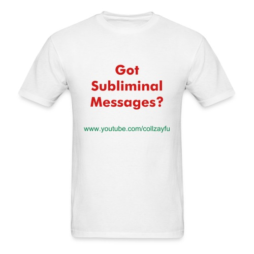 Mens Sublimial T-Shirt - Men's T-Shirt