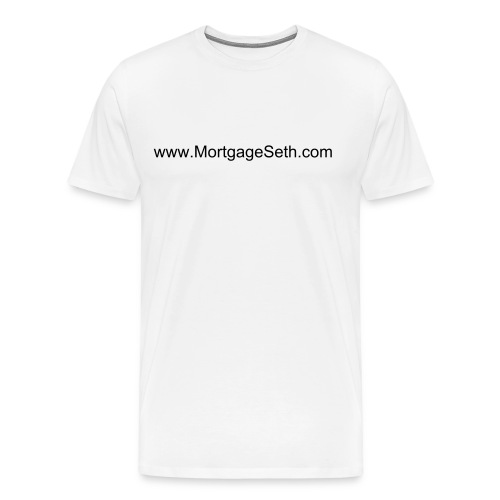 www.MortgageSeth.com Merch (Mens) - Men's Premium T-Shirt