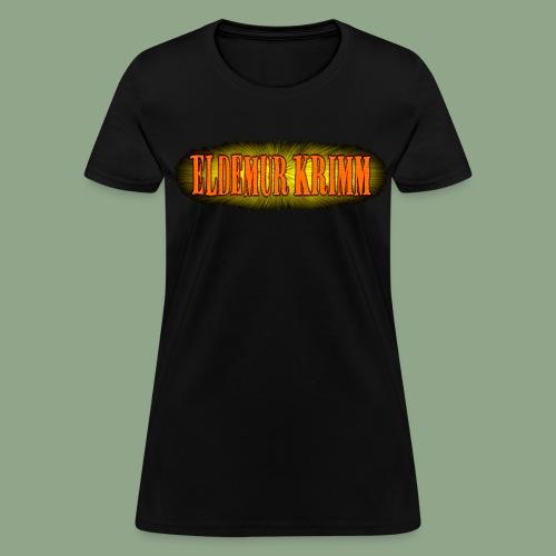Eldemur Krimm - Logo T-Shirt (women's) - Women's T-Shirt