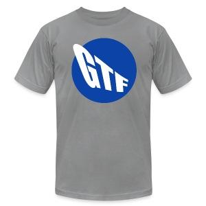 GTF MTA LOGO MED GREY CTR - Men's Fine Jersey T-Shirt