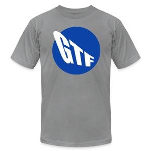 GTF MTA LOGO MED GREY LTR - Men's Fine Jersey T-Shirt