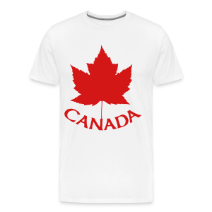 Canada T-Shirts Men's Maple Leaf Shirts - Men's Premium T-Shirt