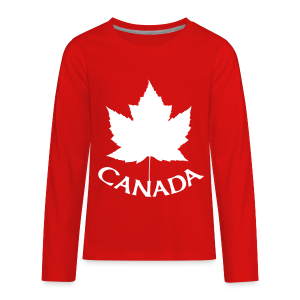 Canada T-Shirts Long Sleeve - Kid's - Kids' Premium Long Sleeve T-Shirt