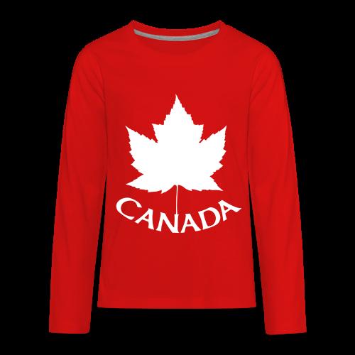 Canada T-Shirts Long Sleeve - Kid's - Kids' Premium Long Sleeve T-Shirt