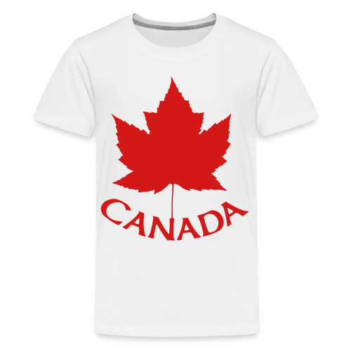 Canada T-Shirts Kid's Maple Leaf Shirts - Kids' Premium T-Shirt