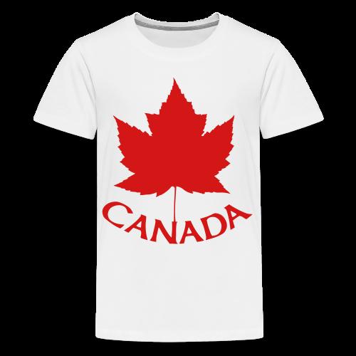 Canada T-Shirts Kid's Maple Leaf Shirts - Kids' Premium T-Shirt