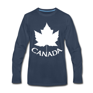 Canada T-Shirts Long Sleeve - Men's - Men's Premium Long Sleeve T-Shirt