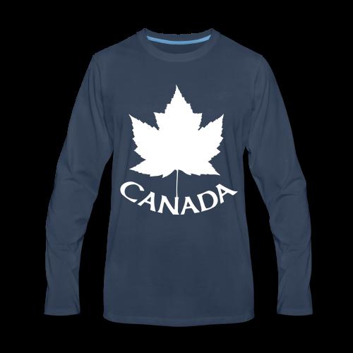 Canada T-Shirts Long Sleeve - Men's - Men's Premium Long Sleeve T-Shirt