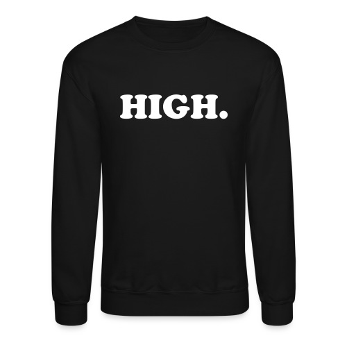 HIGH. - Men's Crewneck Sweater - Crewneck Sweatshirt