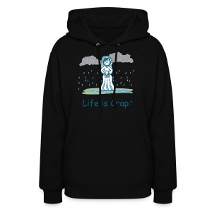 Rain Bride Women's Hooded Sweatshirt - Women's Hoodie