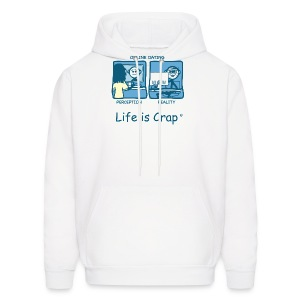 On Line Date Men's Hooded Sweatshirt - Men's Hoodie