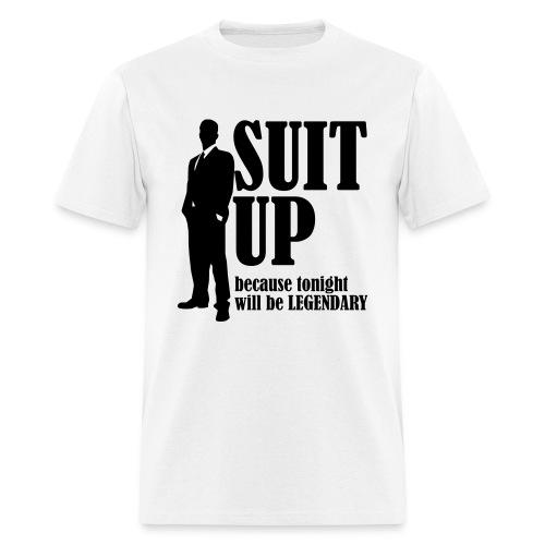 Suit up t-shirt - Men's T-Shirt