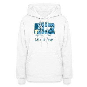 On Line Date Women's Hooded Sweatshirt - Women's Hoodie
