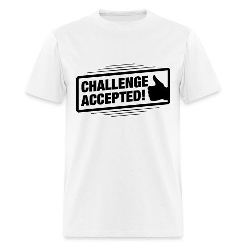 Challenge accepted t-shirt - Men's T-Shirt