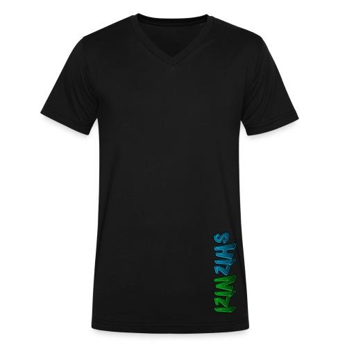 Men's V-Neck Alt - Men's V-Neck T-Shirt by Canvas
