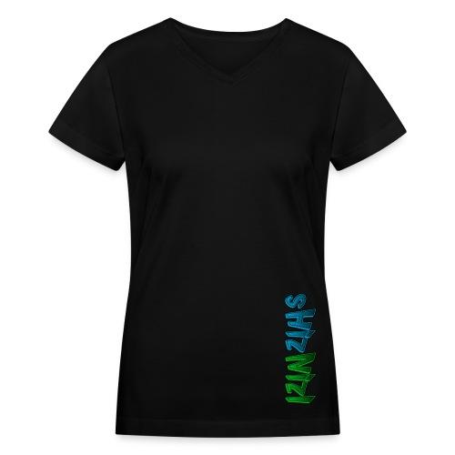 Women's V-Neck Alt - Women's V-Neck T-Shirt