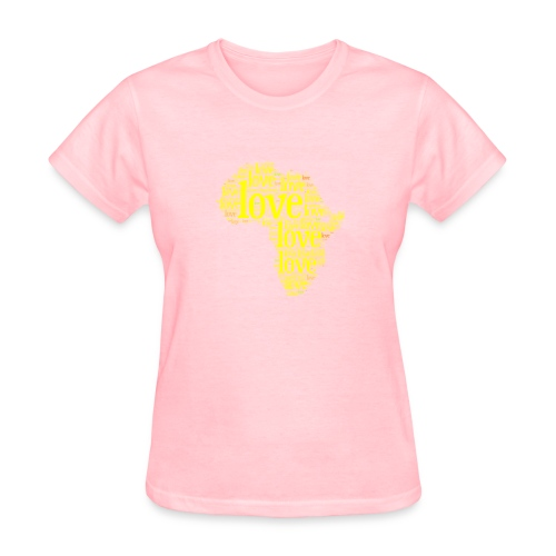 Africa Love Collage - Women's T-Shirt