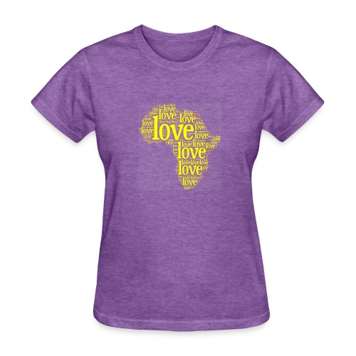Africa Love Collage - Women's T-Shirt