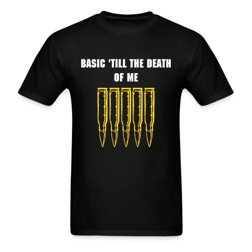 'Till the Death of Me - Men's T-Shirt