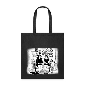 Sitting Crooked Tote - Tote Bag