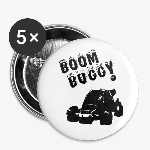 Boom Buggy! Button packs! - Large Buttons