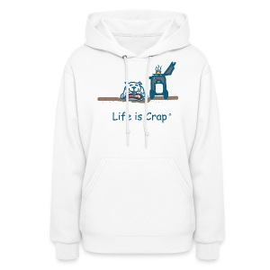 BBQ Dog Women's Hooded Sweatshirt - Women's Hoodie