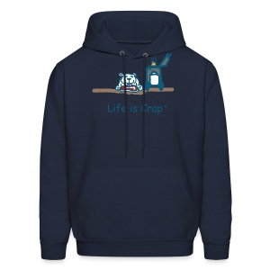 BBQ Dog Men's Hooded Sweatshirt - Men's Hoodie