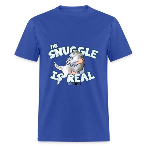 The Snuggle Is Real Men's T-Shirt - Men's T-Shirt