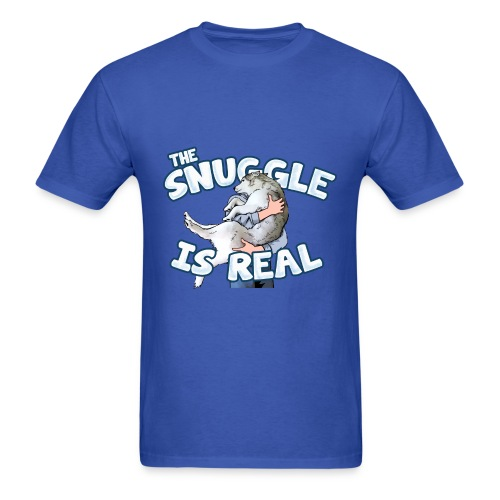 The Snuggle Is Real Men's T-Shirt - Men's T-Shirt