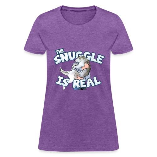 The Snuggle Is Real Women's T-Shirt - Women's T-Shirt
