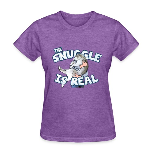 The Snuggle Is Real Women's T-Shirt - Women's T-Shirt