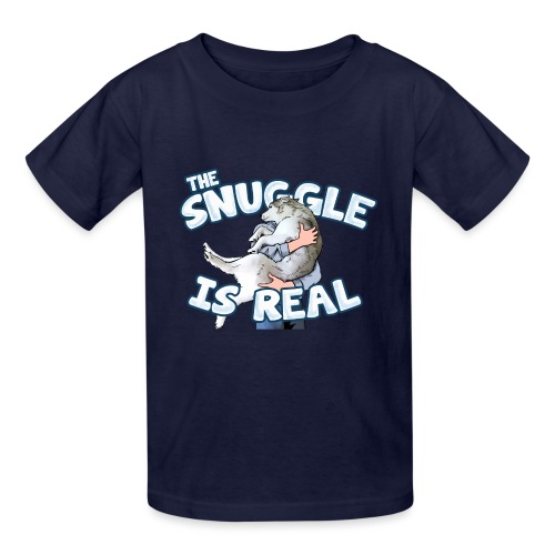 The Snuggle Is Real Kids T-Shirt - Kids' T-Shirt