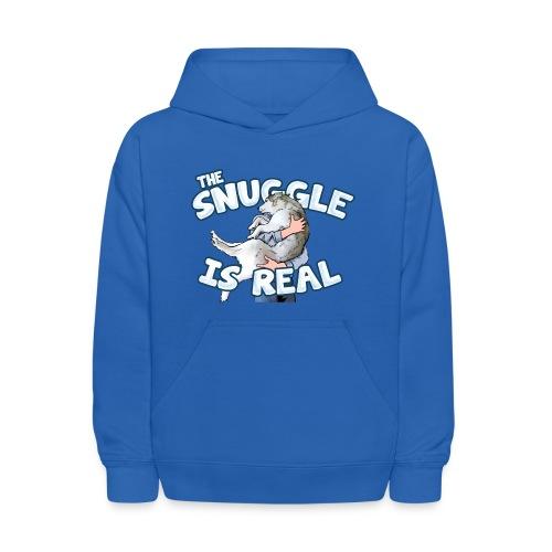 The Snuggle Is Real Kids' Hoodie - Kids' Hoodie