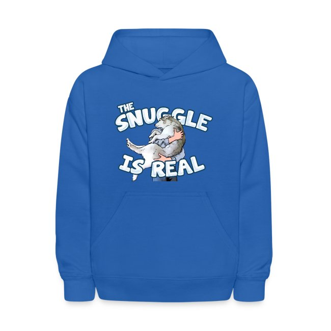The Snuggle Is Real Kids' Hoodie