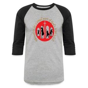 S.M.I.L.E. baseball T - Baseball T-Shirt