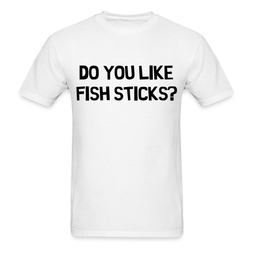 Fishstick t-shirt - Men's T-Shirt