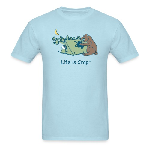 Camping Bear - Mens Classic T-shirt - Men's T-Shirt