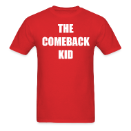 T-Shirts ~ Men's T-Shirt ~ The Comeback Kid - Red