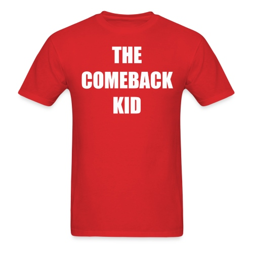 The Comeback Kid - Red - Men's T-Shirt