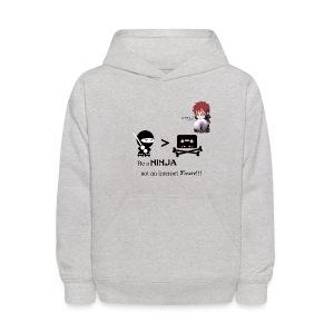 Ninjas Fight Piracy Kid's Hoodie - Kids' Hoodie