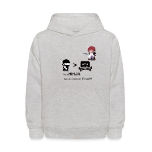 Ninjas Fight Piracy Kid's Hoodie - Kids' Hoodie