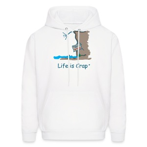 Cliff Dive - Mens Hooded Sweatshirt - Men's Hoodie