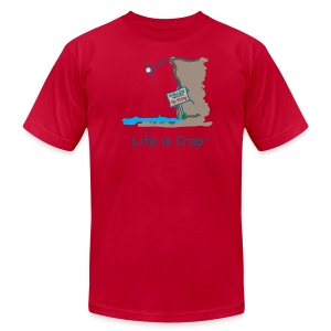 Cliff Dive - Mens T-shirt by American Apparel - Men's T-Shirt by American Apparel