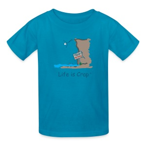 Cliff Dive - Kids T-shirt - Kids' T-Shirt