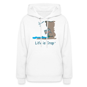 Cliff Dive - Womens Hooded Sweatshirt - Women's Hoodie